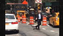Harrison Ford Directs Tunnel Traffic in New York City