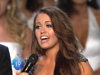 Miss America Winner, Other Contestants Rip President Trump