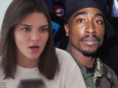 Kendall Jenner's Company Sued Over Famous Tupac Photo