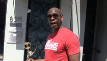 Dave Chappelle Walks Around Town Flaunting His Emmy