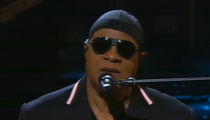 Stevie Wonder Opens Hurricane Relief Telethon with Trump Jab