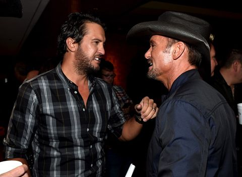 Luke Bryan and Tim McGraw