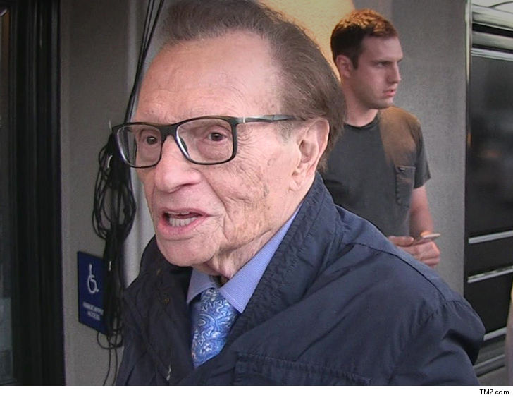 Larry King stays positive despite dire prognosis