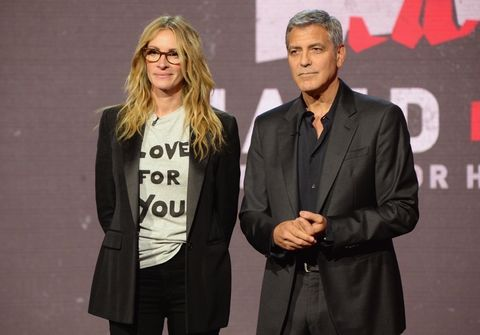 Julia Roberts and George Clooney