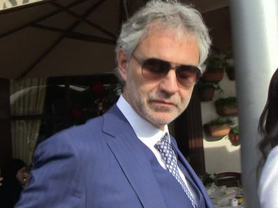 Andrea Bocelli Falls Off Horse, Airlifted to Hospital (UPDATE)