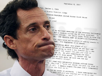 Anthony Weiner Begs Judge For Mercy So He Can Make Good with Huma, Son