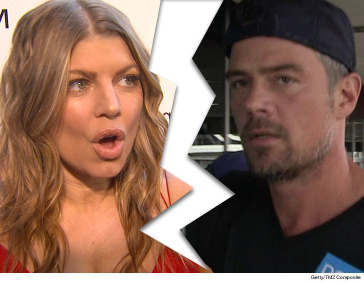 Fergie and Josh Duhamel are splitting up after eight years of marriage