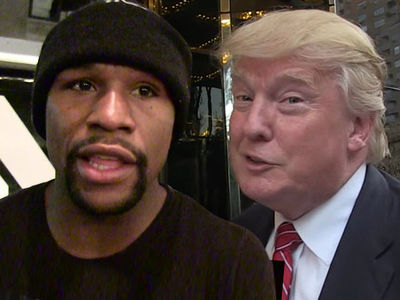 Floyd Mayweather Defends Trump's Locker Room Talk: 'He Speak Like a Real Man'