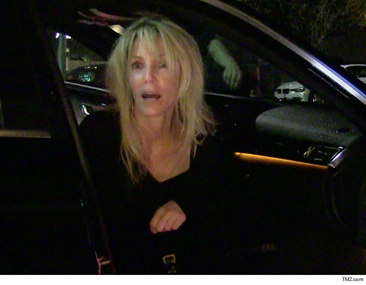Heather Locklear Hospitalized After Crashing Porsche Into Ditch