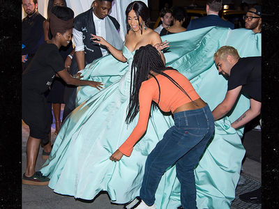 Cardi B's Dress Too Much To Handle at Rihanna's Diamond Ball