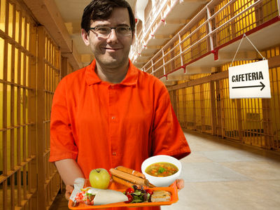 Martin Shkreli's Tummy and Heart Will Be Happy with Prison Menu