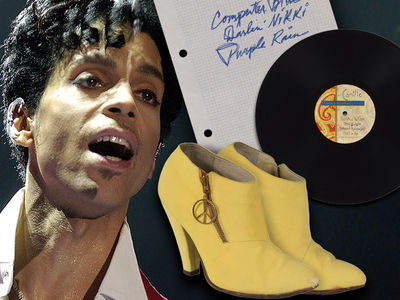 Prince's 'Purple Rain' Handwritten Notes Hit Auction for Thousands!