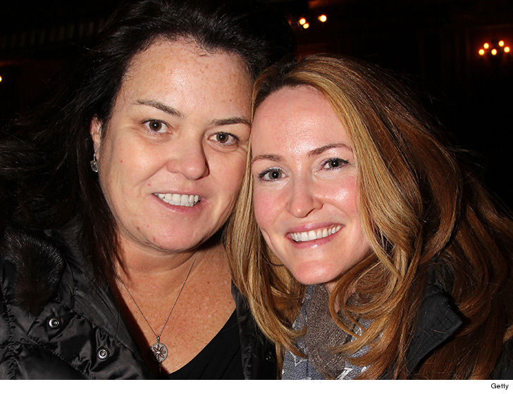 Rosie O'Donnell mourns the death of her ex wife
