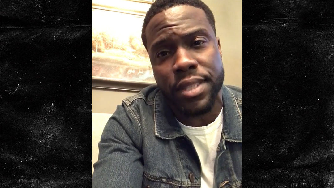 Kevin Hart Apologizes To Wife Kids For Failed Extortion Attempt - Man reacts when he finds out his wife is pregnant after 17 years of trying