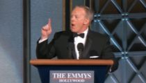 Sean Spicer Crashes the Emmys to Mock Donald Trump