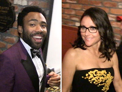Donald Glover, Julia Louis-Dreyfus, Alexander Skarsgard Hit Emmys 2017 After-Party