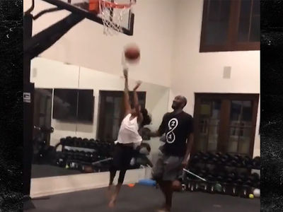 Kobe Bryant's Daughter Is Training Like Pops, Introducing 'Mambacita'
