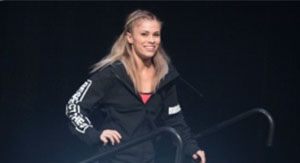 Watch Paige VanZant Bust Out 'Worm' Dance That's Actually Not That Bad
