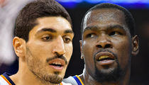 Enes Kanter Blasts Back After Kevin Durant's Anti-Thunder Tweets