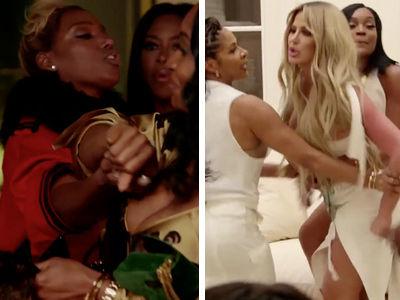 'RHOA' Season 10 Trailer Is Insane: Watch NeNe Leakes and Kim Zolciak Fight Co-Stars!