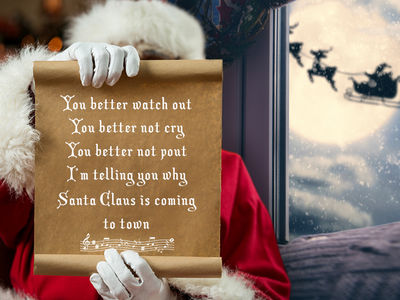 'Santa Claus Is Coming to Town' Songwriter's Family Sues Over Grinch-Like Practices (UPDATE)