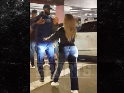LeBron James & Khloe Kardashian Hug It Out After 'Horror' Night