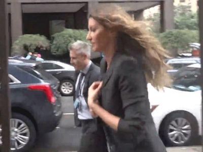 Gisele Speed Walks Away from Tom Brady, Ivanka Trump Questions Heading to UN Meeting