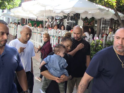 Janet Jackson Cradles Son Eissa While Dodging Verbal Abuse Report