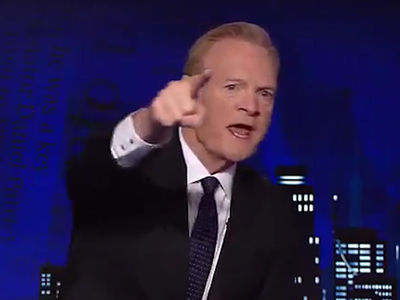 MSNBC's Lawrence O'Donnell Melts Down on Set, 'Somebody Stop the Hammering!!!'