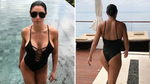 Eva Marie's Birthday Suit Is Fire, Ex-WWE Star Busts Out In Bali