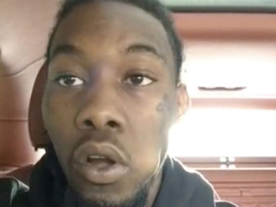 Offset Reacts to Cop Allegedly Choking His GF Cardi B