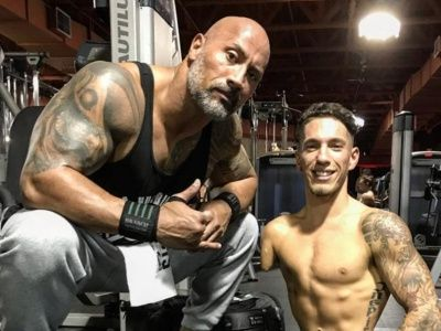 The Story Behind The Rock's INSPIRING Encounter with Bodybuilder Nick Santonastasso (Exclusive)