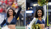 L.A. Rams vs. L.A. Chargers Cheerleaders ... Who'd You Rather?