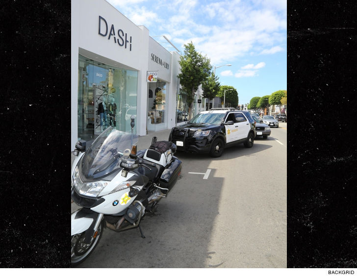 Kardashians' Dash Boutique Attacked by Woman Wielding a Gun and Machete
