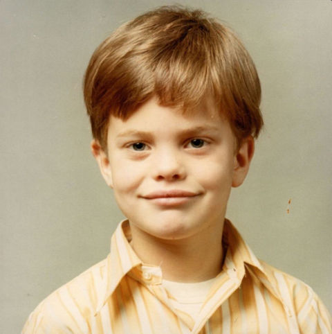 Before this grinning guy was using awkward humor to win awards, he was just another cute kid dreaming of an office job in Seattle, Washington.