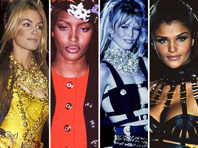'90s Supermodels Reunite on the Runway -- And DAAAAMN, Wait'll You See Them Now!