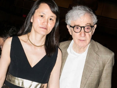 Wait'll You See Woody Allen on Set In RARE Photo with His and Soon-Yi's 17-Year-Old Daughter