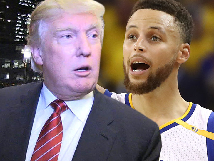 Donald Trump Tells Steph Curry and Golden State, You're Not Welcome at White House