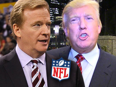 NFL Commissioner Roger Goodell, Show Some Respect, President Trump