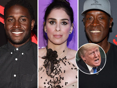 See How Hollywood SLAMMED Donald Trump Over NFL Comments and Steph Curry Diss