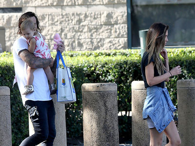 Audrina Patridge Meets with Corey Bohan to Hand Off Daughter for Visit Amid Divorce Drama