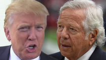 Donald Trump Appears to Flip Off Patriots Owner Robert Kraft