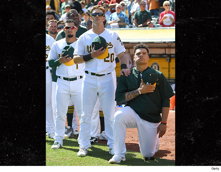 Restaurant Says Bruce Maxwell Lying About Waiter Refusing Service over Protest