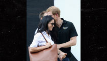 Prince Harry & Meghan Markle -- Finally, Some PDA!!! ... Royal Snuggling in Toronto