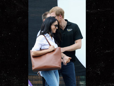 Prince Harry, Meghan Markle in Open PDA for First Time