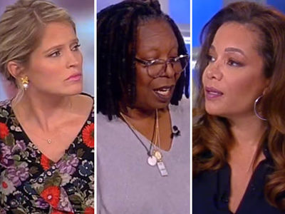 See How 'The View' Railed Against Trump and Those Who Have a Problem with the NFL Protests