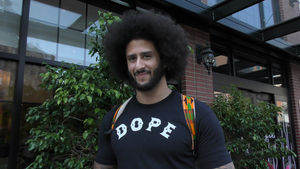 [edit]	Colin Kaepernick Surfaces After NFL Protests, Smiling & Jacked