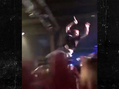 Post Malone Calls Himself the Jack Black of Stage Diving