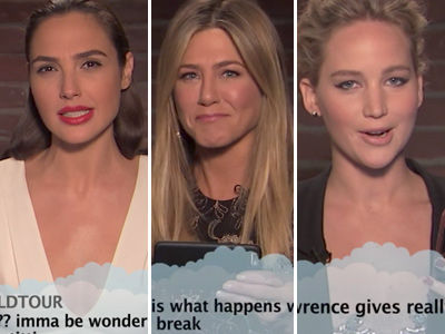 Jimmy Kimmel's New A-List Edition of 'Mean Tweets' Gets NSFW Fast -- See SHOCKED Star Reactions!