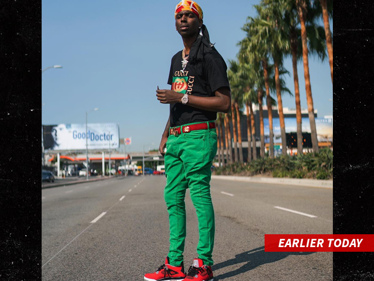 Rapper Young Dolph hospitalized after being hit multiple times in Hollywood shooting